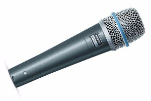 Shure Beta 57A Microphone Hire