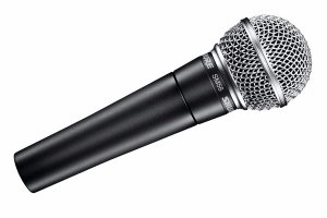Shure SM58 Microphone Hire