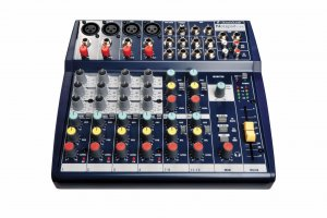 Soundcraft Notepad 124 Mixing Desk Hire